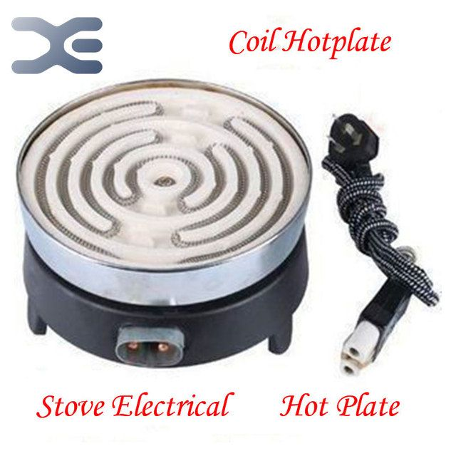 Free Shipping Stove Electrical Piastra Elettrica Per Cottura Coil Hotplate 500W Hot Plate Cook Plaque Chauffante