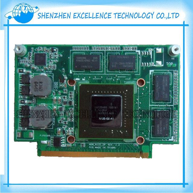 For ASUS n75sf  n55sf Graphic Card N12E-GE2-A1 GT555M Video card 60-N5UVG1500-B01 free shipping