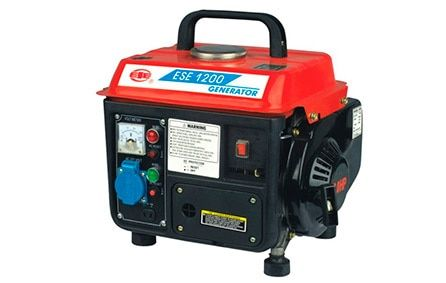 Portable 220V 700W household miniature gasoline generator with low noise and low fuel consumption