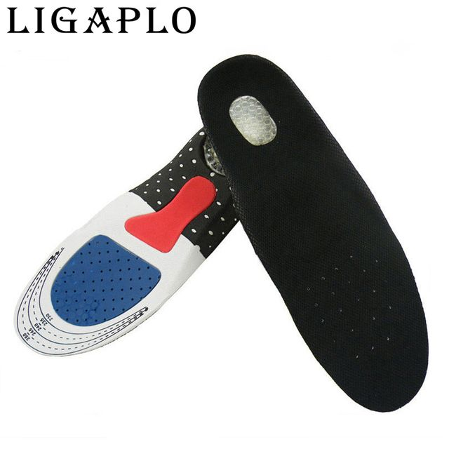 factory Free Size Unisex Orthotic Arch Support Shoe Pad  Gel Insoles Insert Cushion for Men Women free shipping