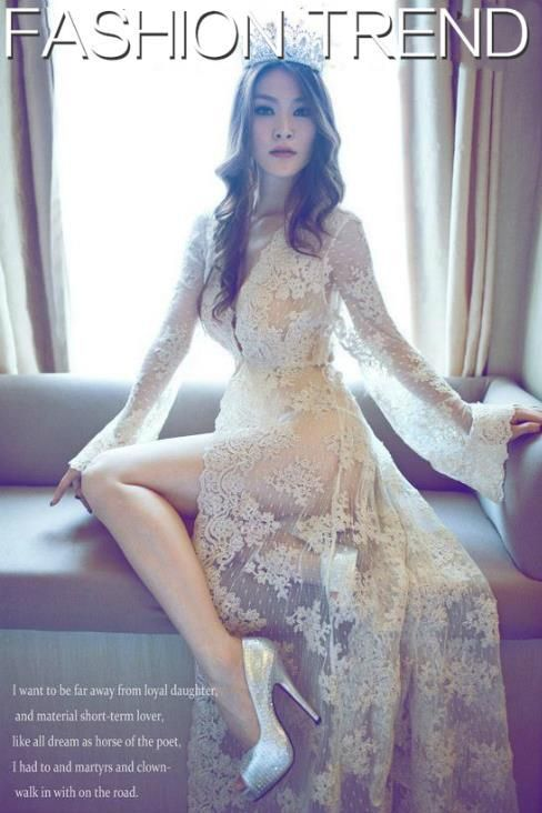 New Maternity Photography Props Summer Lace Transparent White Beach Dress Maternity Long Lace Dress Pregnant Photography Fancy