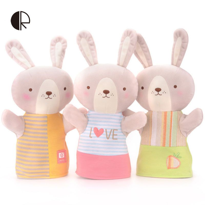 Free shipping 2017 new hot sale soft plush Easter rabbit toy children's gift HT2751