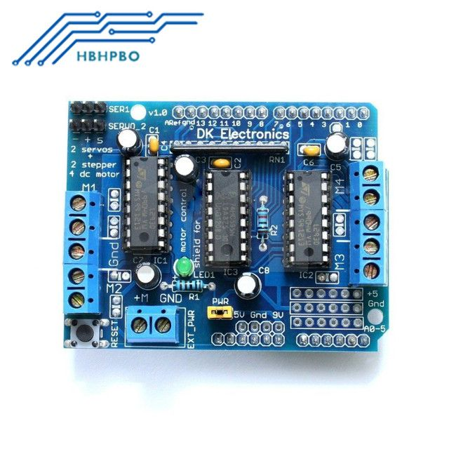 L293D Mini Motor Drive Shield Expansion Board Module For Arduino UNO MEGA 2560