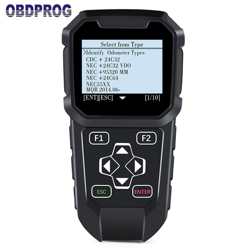 OBD MT401 odometer correction tool Mileage Programmer Dashboard Adjust Tool OBDII Diagnostic Scan with MQB Mileage Adjust Tool