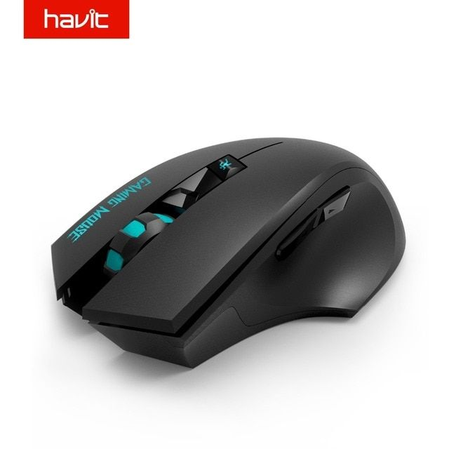 HAVIT 2.4G Wireless Gaming Mouse 1000-1500-2000 DPI 6 Button USB Receiver For PC Laptop Desktop Gamer Mouse HV-MS976GT