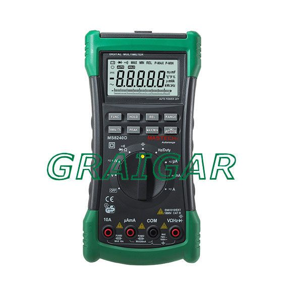 Free Shipping Mastech MS8240D Digital Multimeter