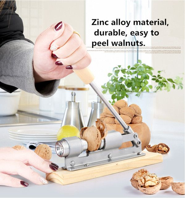 New high quality mechanical sheller walnut nutcracker nut cracker fast Opener Kitchen Tools fruits and vegetables
