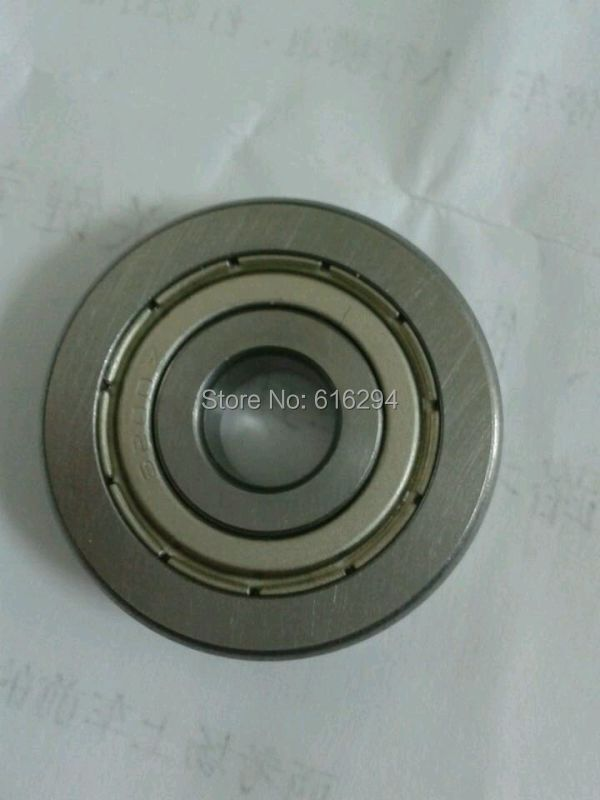 Outer ring with V-groove pulley spring machine straightener guide wheel bearing A1002 V6200ZZ 10 * 35 * 9-- free shipping