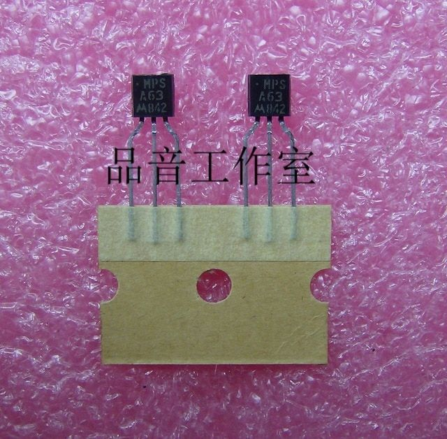 2018 hot sale 30Pcs new original out of print MOT MPSA63 Audio electronics free shipping