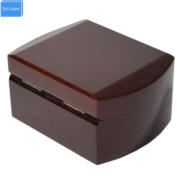 Special custom wood watch/Jewelry wood box case round edge wooden watch case organizer storage vintage box watch factory supply