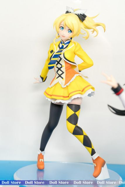 22CM Japanese original anime figure love live SUNNY DAY SONG Ellie action figure collectible model toys for boys