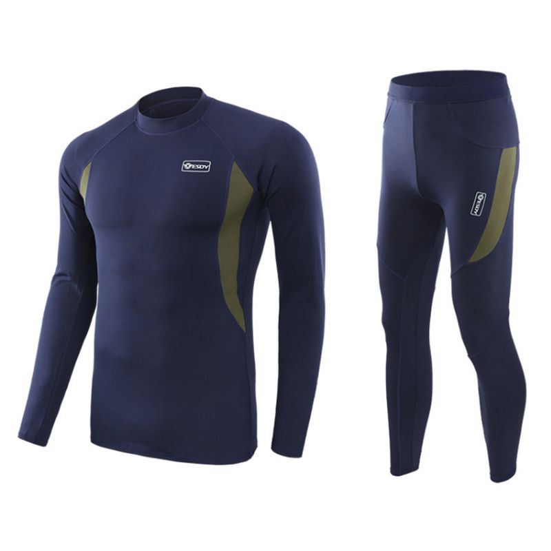 Men Winter Warm Cycling Base Layers Quick Dry Cycling Thermal Underwear Men For Riding/Climbing/Cycling