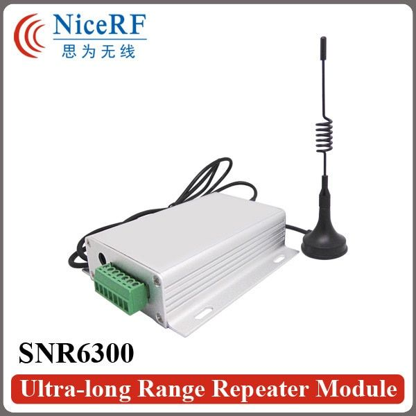 2pcs/pack SNR6300 433MHz RS485 Ultra-long Range Network Repeater Module |3W Wireless RF Module