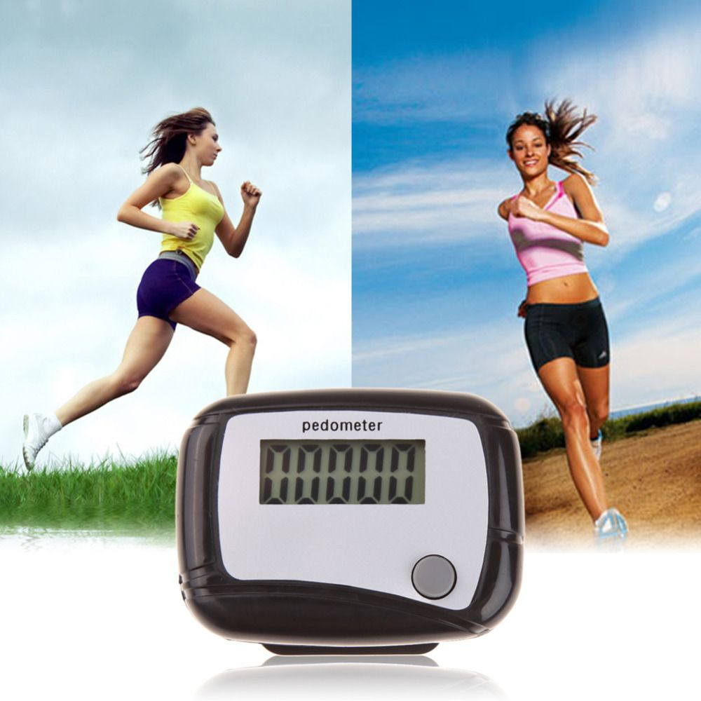Digital LCD Display Walking Pedometer Outdoor Sports Distance Calorie Counter Passometer Pedometers Running Stappen Teller
