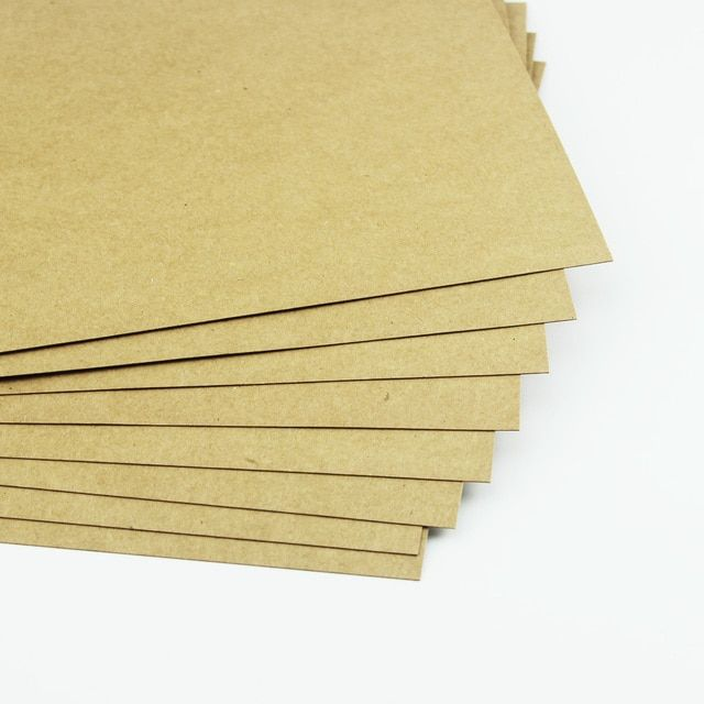 Multifunctional A4 250/300g full wood pulp kraft paper high quality handmade paper 50sheets / pack