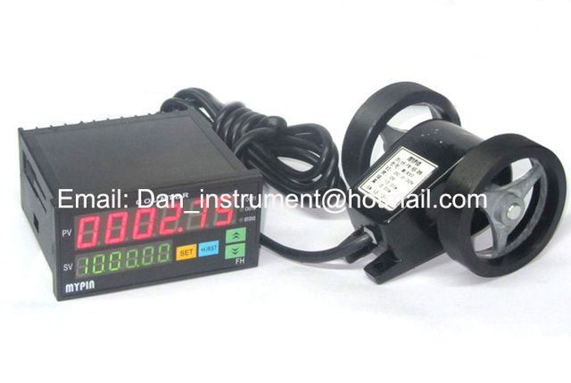 meter counter length measerement measure in meter and yard
