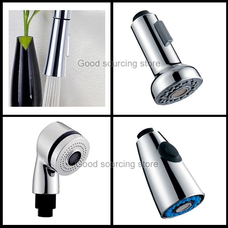 pull out faucet spray head, kitchen faucet accessory