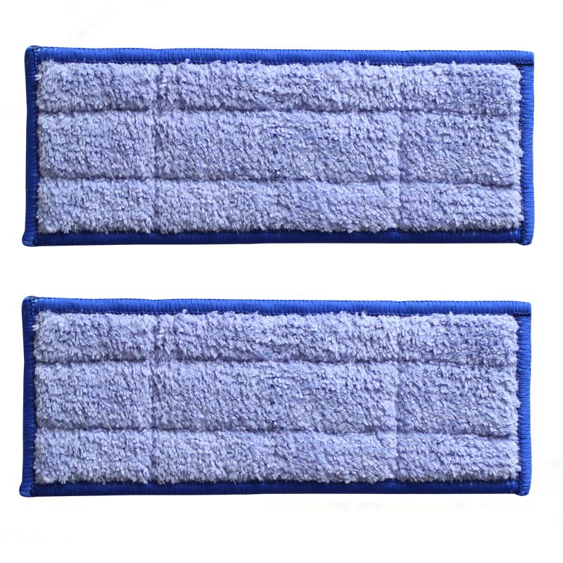 Microfiber 2pcs/Lot Washable wet sweeping Pad mopping pads for iRobot Braava Jet 240 Free Post