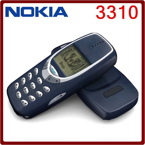 3310 Original Unlocked Nokia 3310  Cheap 2G GSM Support Russian &Arabic Keyboard Refurbished Cell Phone 5Pcs DHL Free Shipping