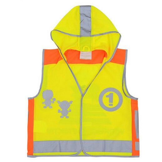 EN471 High visibility children safety vest kids reflective vest tellow vest free shipping