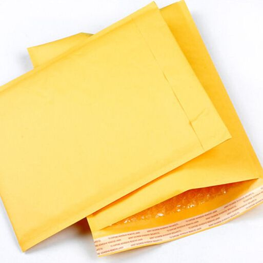 (130*230mm) 10pcs/lots Bubble Mailers Padded Envelopes Packaging Shipping Bags Kraft Bubble Mailing Envelope Bags