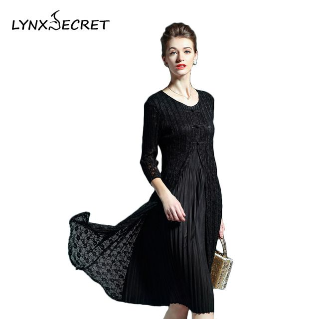 Autumn and Winter Women Cute Fashion Knee-Length Solid Dresses Female O-Neck Loose Long-sleeve Elegant  Ladies Clothing