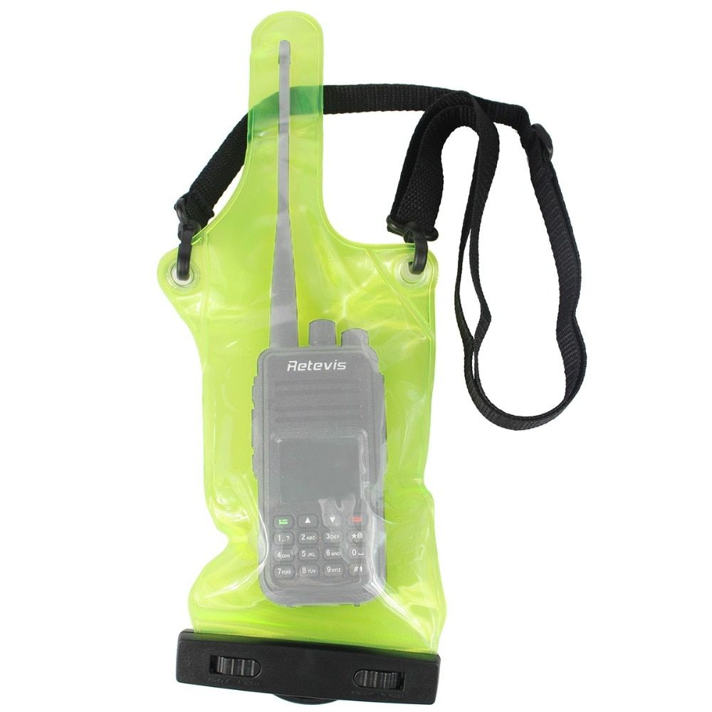 Universal Waterproof Sets/Holster case holder for Walkie Talkie Ham Radio Hf Transceiver J6309G