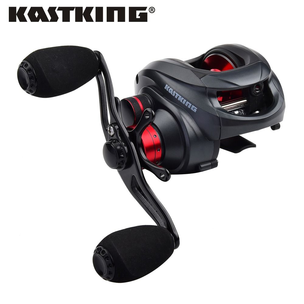 KastKing Spartacus low profil baitcasting reel 12 ball bearings right Hand left hand carp fishing reel