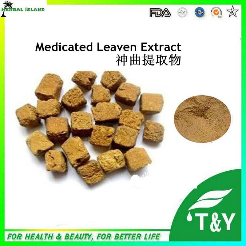 China manufacturer long supply Medicated Leaven extract powder 400g/lot