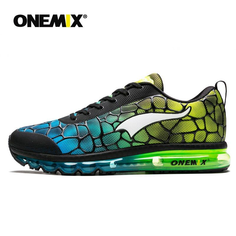 ONEMIX 2019 Men's Training Running Shoes Unisex Free inspire Water Cube Top quality Sport AIR flexible Sneaker 1096