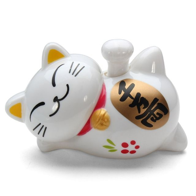 New Solar Power Waving Claw Fortune Cat Furnishing Article Toys Fortune Cat Home Hotel Restaurant Decor Craft Lovely Solar Toys