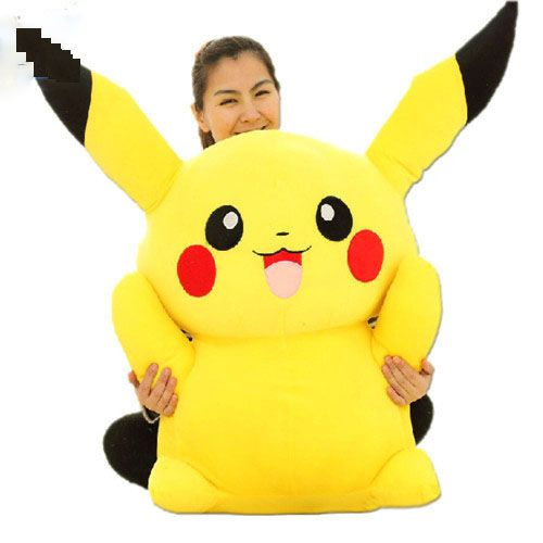 2016 100cm Huge Super Cute Giant Plush Pikachu, Good Present for Kids