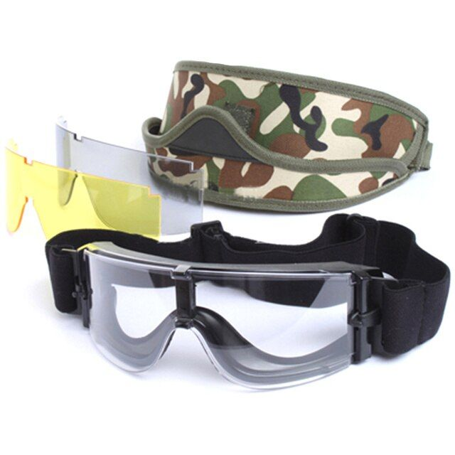 Outdoor X800 Ski Goggles X800 Outdoor Wind Suit Plus Camouflage Glasses Skiing Men Women Snow Snowboard Goggles