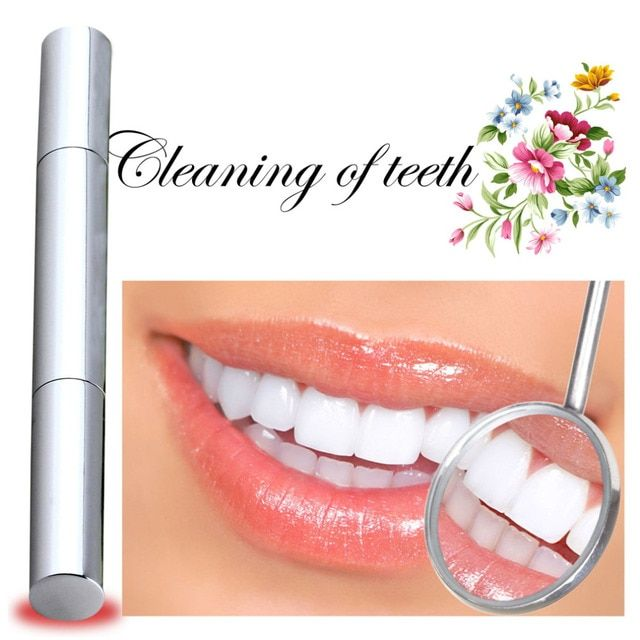 1 PCS Teeth Whitening Pen Tooth Gel Whitener Bleach Stain Remove Instant Oral Hygiene 2017 Hot Sale