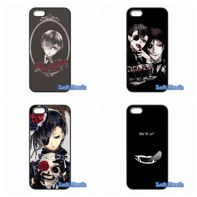 For Samsung Galaxy 2015 2016 J1 J2 J3 J5 J7 A3 A5 A7 A8 A9 Pro Anime Kuroshitsuji Case Cover