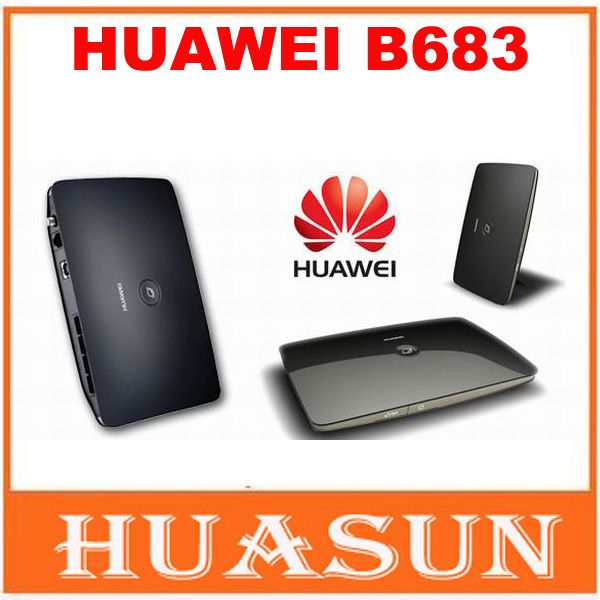 Original Unlocked Huawei B683 21.6Mbps 3G wireless router HSPA+ Wireless WIFI Gateway support USB port WCDMA 900/2100MHZ