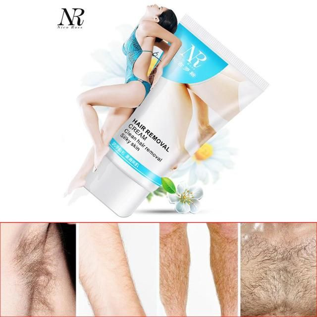 Makes the skin satin smooth and silky soft NR Powerful Permanent Hair Removal Cream Stop Hair Growth Inhibitor Removal Anne