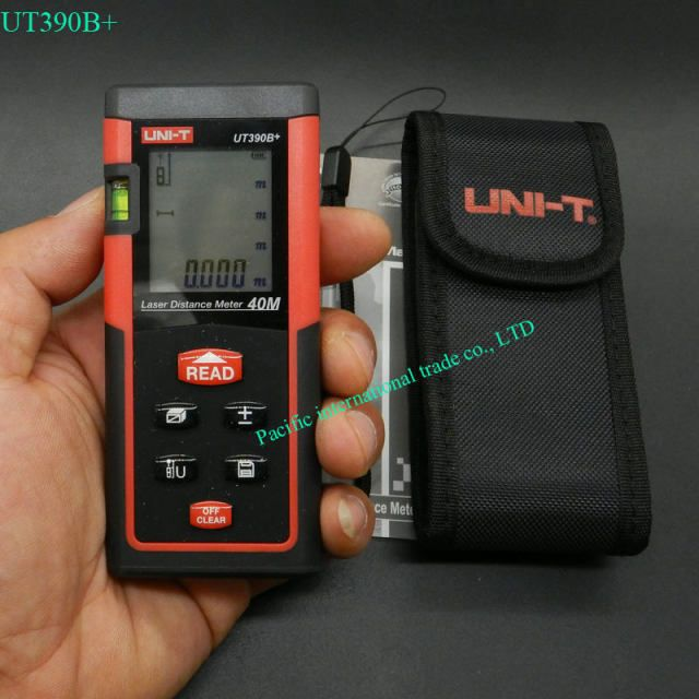 UNI-T UT390B+ 40M Optical Laser Range finder Handheld area measure volume measure telemetre laser distance meter