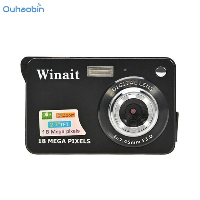 Ouhaobin Children Portable Mini Camera HD 500 CMOS 18 Mega Pixels 2.7 inch Camera TFT LCD Screen 720P Digital Camera Sep19