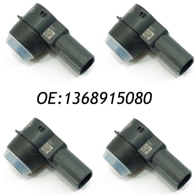 4PCS Fits For Fiat Doblo Ducato III Qubo Bravo II PDC Backup Parking sensor 1368915080 0263013413, 0 263 013 413