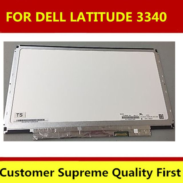 "LAPTOP LCD SCREEN FOR DELL LATITUDE 3340 13.3"" WXGA HD N133BGE-E31 90N37 KTXDR Moniter Display Replacement  free shipping"