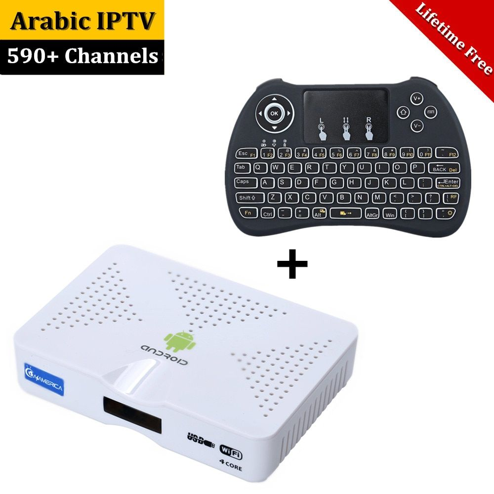 Lifetime Free Arabic IPTV Box Android TV , 1000 Plus IPTV Arabic Channels( arabic channels) HDMI Smart Android Mini PC TV Box