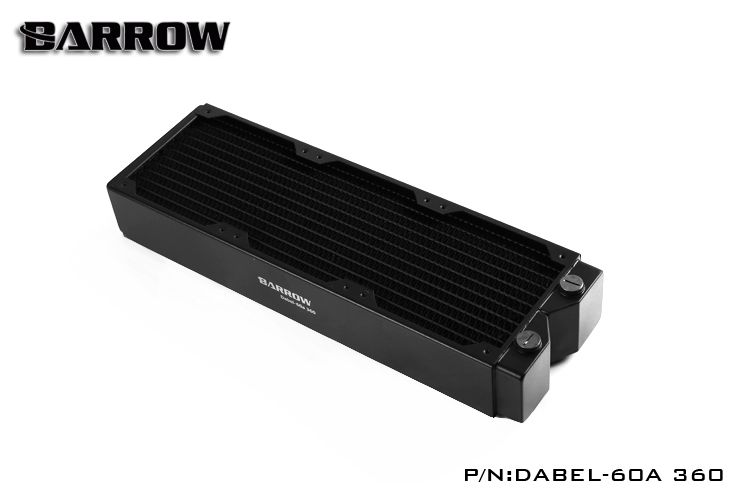 Barrow Dabel-60A 360, 60mm Thicknes 360mm Radiator, Copper Thick Plus Type Water Cooler, Suitable For 120mm Fans