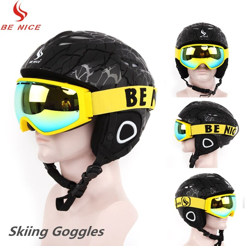 Benice Winter Sports UV400 Protection Ski Goggles Snowboarding Skate Goggles Unisex Snow Skiing Eyewear SN-3900