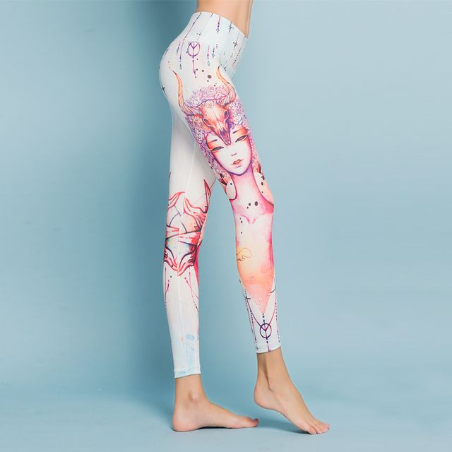 12 constellations Taurus 3D Printing Fashion High quality quick dry  Women pants Leggings Fitness pants Not fade deformed