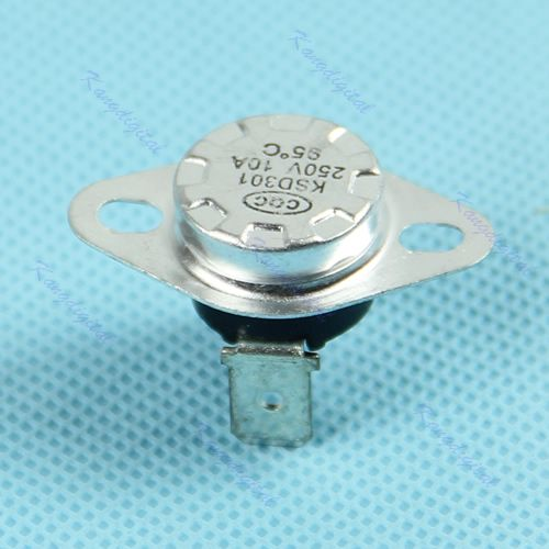 Normal Close Temperature Controlled Switch Thermostat 250V 10A 1pc KSD301 95C-Y103