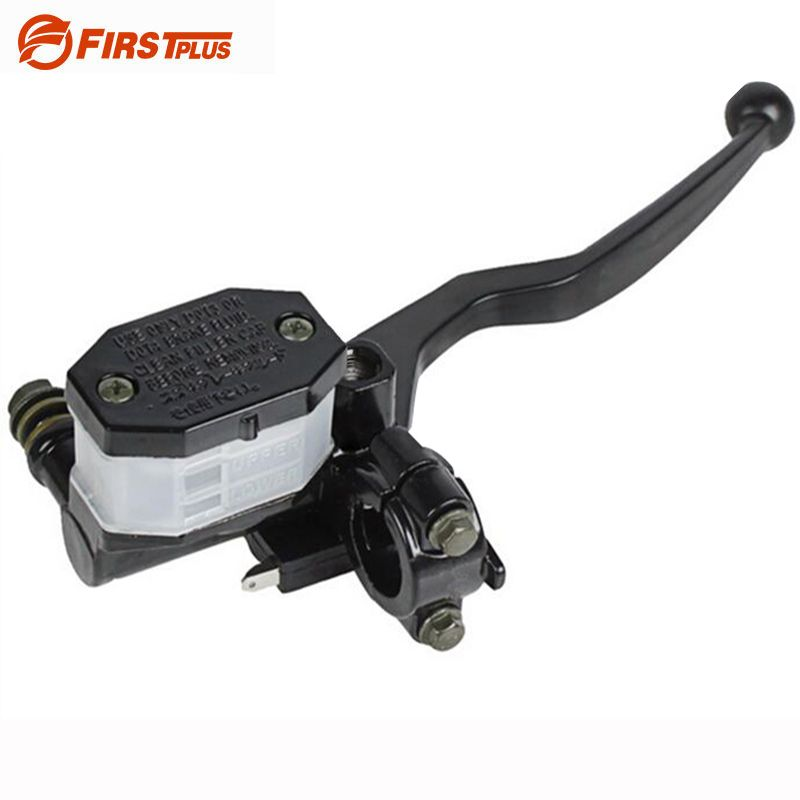"22mm 7/8"" Motorcycle Front Right Brake Clutch Levers Master Cylinder Reservoir Lever Oil Tube Cable For Suzuki GN125 GS125"