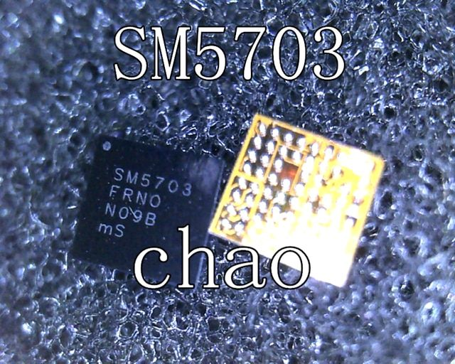 SM5703 SM5703A For Samsung A8000 J700H J500 Charger IC A8 USB Charging chip 5pcs/lot