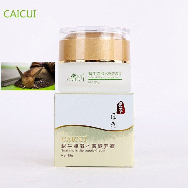 CAICUI  Gold Snail Face Cream, Moisturizing Whitening Anti-aging Anti wrinkle snail shells slip supple Day Cream Face Care