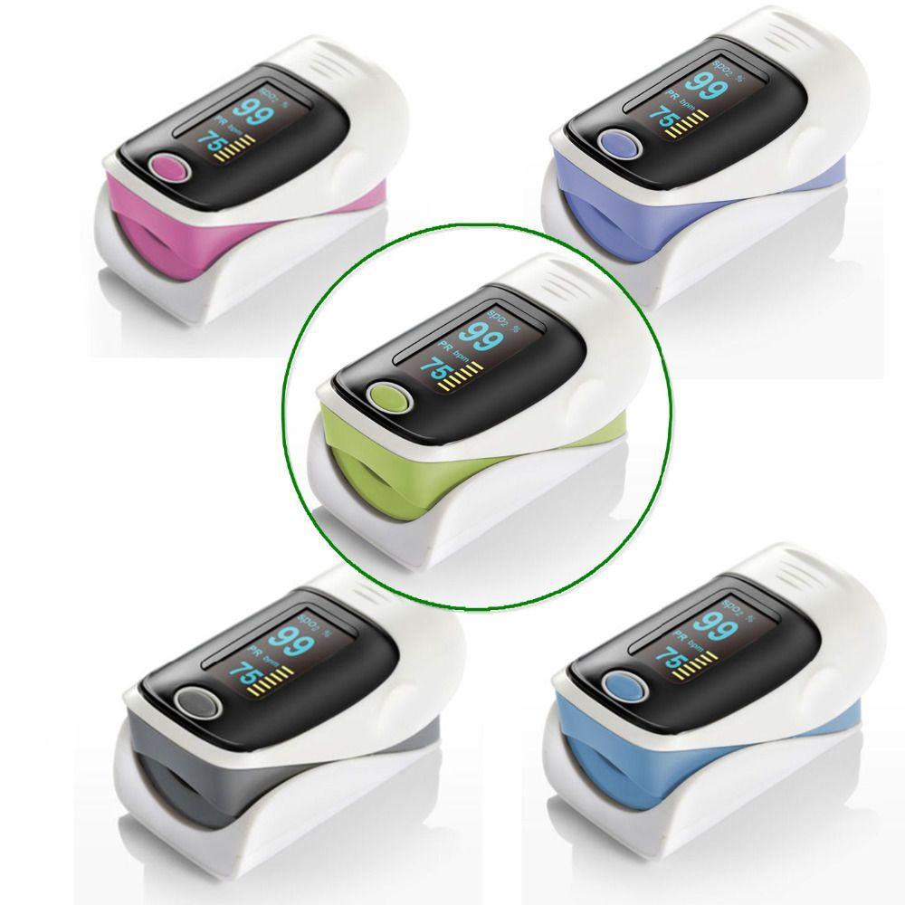 Hot Freeshipping Finger Pulse Oximeter Blood Pressure Monitor Heart Rate Oximetro  Portable Diagnostic-Tool Medical Equipment